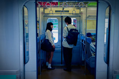 Blue train (otarako☺︎) Tags: 静岡 東伊豆 稲取温泉駅
