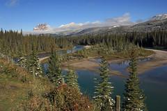 A River in Alberta (JB by the Sea) Tags: canada river rockies alberta banff rockymountains transcanadahighway banffnationalpark canadianrockies september2014