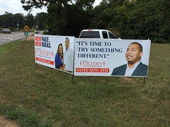 Campaign signs are up! #TeamDarius