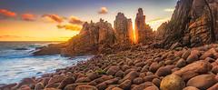 The Eye Of Sauron (Mark McLeod 80) Tags: seascape rocks australia victoria phillipisland capewoolamai thepinnacles markmcleod canontse24mmf35lii
