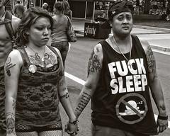 A Love Story (Culture Shlock) Tags: street girls people blackandwhite bw usa love women colorado couples denver pairs lovestory partners