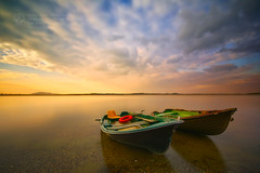 Boats by Piotr.Krol - Poland, Lower Silesia, Mietkow Lake,   Website || Facebook || 500px