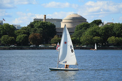 Charles River (Ir. Drager) Tags: charlesriver boston cambridge sailing mit boat massachusetts usa geotagged northamerica