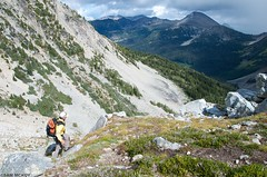 DSC_4911 (sammckoy.com) Tags: mountains hiking britishcolumbia lakes adventure alpine stein lanscape lillooet provincialpark chilcotin coastmountains texascreek brimful