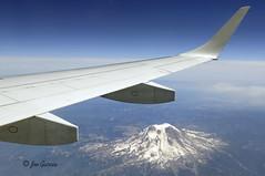 Mount Shasta, California (joeinpenticton Thank you for 900,000+ views) Tags: california usa canada america airplane us air jose wing joe mount shasta garcia ac 190 embraer joeinpenticton