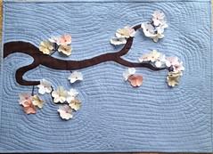Spring in Kyoto (lestroissardines) Tags: origami textile patch patchwork printemps japon décoration