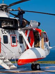 EC-FTB Sikorsky S-61N MkII Salvamento Martimo INAER (joseluismaquieira) Tags: espaa helicopter galicia sikorsky leco acorua lcg salvamentomartimo s61nmkii ecftb