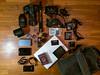 Equipment for Iraq (Giulio Magnifico) Tags: travel iraq equipment manfrotto macbook photoreportage nikon1v1 1nikkor10mmf28 nikond800e sigma35mmf14dghsm ml840h nikkormicro105mmafsvrf28
