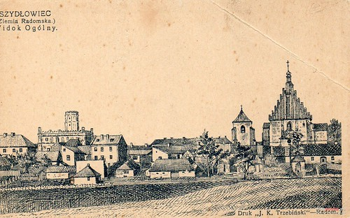 Panorama Szydłowca, przed I wojną światową (fotopolska.eu)
