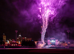 Victory Field Fireworks... (Mike Millspaugh) Tags: field baseball fireworks indianapolis indiana victory indians
