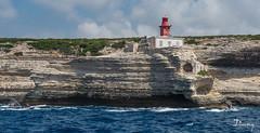 PHARE DE BONIFACIO - CORSE JUIN 2014 (daumy) Tags: light mer house france rouge corse vague phare bonifacio mediterranne