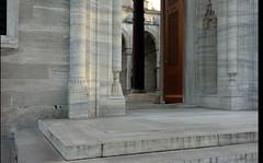 Süleymaniye, steps to sahn portal