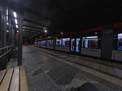 Czekając na tramwaj | Waiting for the tram