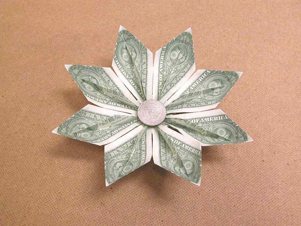 Origami Flower From Dollar Bill 267518 1cashingfo