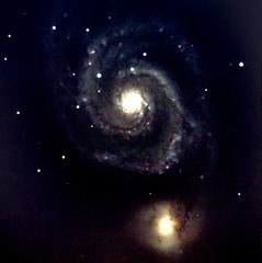 Whirlpool Galaxy M51 (tac star) Tags: m51 whirlpoolgalaxy