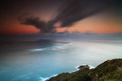 Te Moana-a-Rehua - Cape Reinga (angus clyne) Tags: newzealand capereinga temoanaarehua sunrise sea