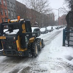 Winter Storm Stella - NYC DOT Snow Removal Efforts (NYCDOT) Tags: nycdot winterstorm