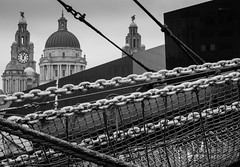 BRYAN_20170130_IMG_1199 (stephenbryan825) Tags: albertdock liverpool mannisland portofliverpoolbuilding royalliverbuilding architecture boats buildings chains details dome graphic ropes selects threegraces vessels