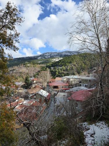 Pedoulas village.