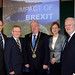 Dr. Howard Hastings, Hastings Hotels, Niall Gibbons, Tourism Ireland, Joe Dolan, President, IHF, Deirdre Clune MEP and former Taoiseach John Bruton