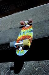 Skate Pause (yattaran72) Tags: film colors rollei italia kodak south skateboard salerno sud canont70 c41 selfdevelopment canonfd28mm digibase