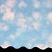 O céu como uma pintura
