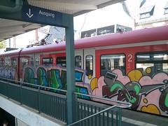 S5 nach Bad Homburg (Jürgo) Tags: streetart train graffiti frankfurt ffm streetartfrankfurt trainwriting