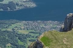 View of Lake Luzern from Mount Pilatus (SG.NikonD7000) Tags: lake landscape iso100 nikon swiss luzern sharp 70300mm tamron sunnyday 70300 d7k luzernlake d7000 iamnikon nd7k