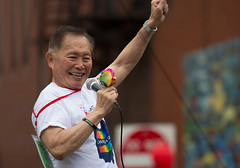 George Takei - Columbus Pride Parade (blacksheep_vmf214) Tags: street gay columbus ohio lesbian drag george high downtown glbt pride parade bi takei