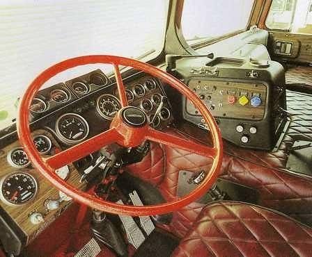 2014-06-26 02.55.51 (lowston) Tags: interior dash coe. Peterbilt ...
