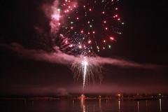 Fireworks over Grand Marais Bay, MN (Natalia K.) Tags: minnesota fireworks northshore 4thofjuly mn grandmarais nataliaklimovaphotography
