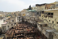 Fès Tanneries (Fès, Morocco) (courthouselover) Tags: morocco maroc almaghrib fèsboulemane fèsboulemaneregion régiondufèsboulemane fès fèselbali unescoworldheritagesites unesco المغرب فاس africa northafrica medinaoffez