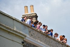 on the roof (jinephoto) Tags: roof tourdefrance spectator tdf