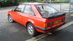 1982 Ford Escort XR3