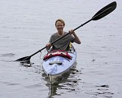 In the kayak (wplynn) Tags: county sea lake wisconsin kayak 4th chain solstice co seakayak fourth northwoods moen oneida rhinelander currentdesigns