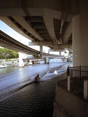 The south side of Nakamura river final (tetsuo5) Tags: gr yokohama  nakaku   shinyamashita