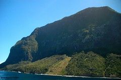Back of Mt Gower - Lord Howe Island Circumnavigation (Black Diamond Images) Tags: mountains island boat paradise australia cliffs nsw boattrip circumnavigation lordhoweisland worldheritagearea mtgower thelastparadise circleislandboattour