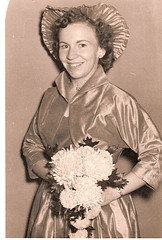 "Bridesmaid for Eleanor Menchey Oct-3-1953 • <a style=""font-size:0.8em;"" href=""http://www.flickr.com/photos/42153737@N06/14594551733/"" target=""_blank"">View on Flickr</a>"