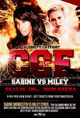 Sabine Mondestin vs Miley Cyrus (bleencash) Tags: show red people film television fashion cat magazine movie poster stars carpet star oscar fight model lasvegas martialart famous fame arena business event entertainment hollywood actress reality celebrities vs punch premiere cyrus boxing celeb sabine mgm ufc catfight tabloid redcarpet gossip showbiz miley starsystem tmz mileycyrus publiccharacter celebritynews hollywoodgossip mondestin clbrit sabinemondestin queensabine queeensabinemondestin