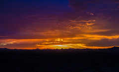 Arizona Monsoon Sunset (Pyrat Wesly) Tags: sunset arizona clouds canon goodyear sigma30mmf14 60d