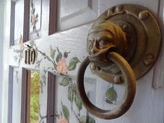 Amazing Door Knocker (m.gifford) Tags: door toronto amazing 110 beaches knocker painteddoor paintedflowers