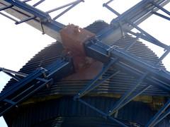 Hub. . . (Elsie esq.) Tags: windmill southdowns beaconhill meccano rottingdean