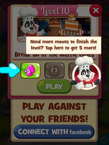Cookie Jam Tutorial: screenshots, UI