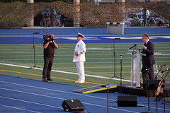 Brian Stewart, Master of Ceremony (Can Pac Swire (away for a bit)) Tags: toronto ontario canada heritage history soldier one 1 1st anniversary military wwi universityoftoronto ceremony canadian 100th soldiers 100 ww1 1914 worldwar forces armedforces 1918 299 centenary bloorstreetwest varsitystadium i aimg9945 19141918inmemoriam 20140731