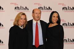 Gala Co-Chair Martha Fling, Board Chair John O'Neill and Ackerman Institute President Lois Braverman