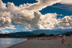 Beach of Montepaone (andreaplanet) Tags: italy beach flickr calabria montepaone