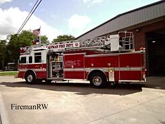 Kaufman, TX FD Ladder 1 (FiremanRW) Tags: firetruck dash pierce ladder quint