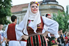 International Folklore Festival, Pirot, Serbia, 2014 Srbija3 (Tanjica Perovic) Tags: girls portrait beautiful smile dance clothing women folkart traditional serbia culture august folklore procession colourful cultural garments beautifulgirl headdress srbija 2014 ensamble serbian nationaldress canonef50mmf14 pirot canoneos400d colourrich  tanjicaperovicphotography medjunarodnifestivalfolklorapirotsrbija internationalfolklorefestivalpirotserbia folkloredanceensamble  medjunarodnifestivalfolklora