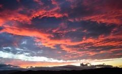 Sunset (enricorinaldi22) Tags: blue autumn sunset shadow summer sky orange black color love colors yellow clouds sunrise amazing nikon warm moments tramonto colore photographer horizon ombra like ombre tramonti colori horizons orizzonte likeit skyporn igers d3100