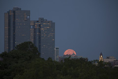 Moonset_5006-42 (MrPixure) Tags: moon skyline dallas texas unitedstates dallasfortworth northamerica dfw citycenter moonset moonscape fortworth thefort wherethewestbegins spaceformation